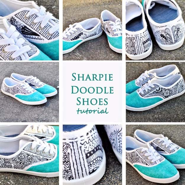 Cool diy fashion ideas sewing jeans sharpie doodles and fashion cool diy fashion ideas solutioingenieria Gallery