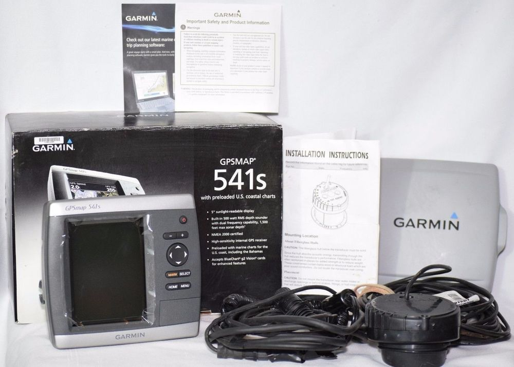 Garmin GPS 541s Marine GPS Receiver w/ P79 Airmar Transducer