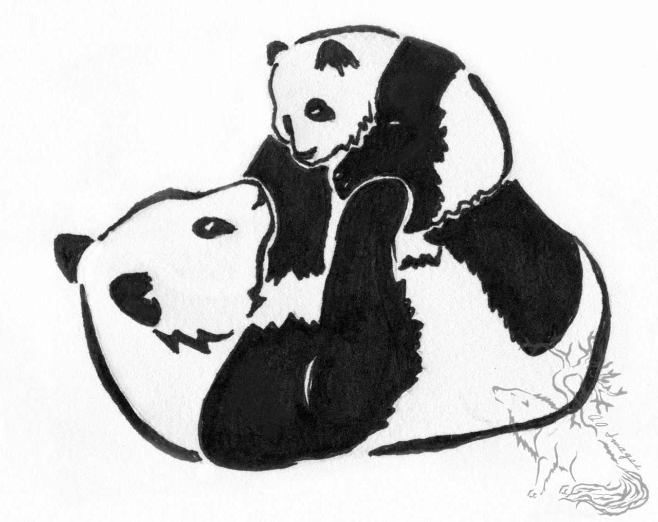 Crazy Tattoo Face: Panda Tattoo Tumblr   PANDA ❤   Pinterest ...