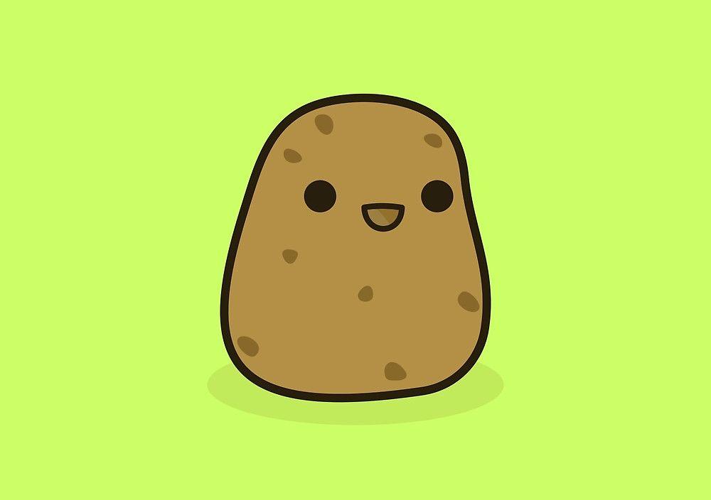 Cute Potato By Peppermintpopuk Cute Potato Cute Art Inspiration