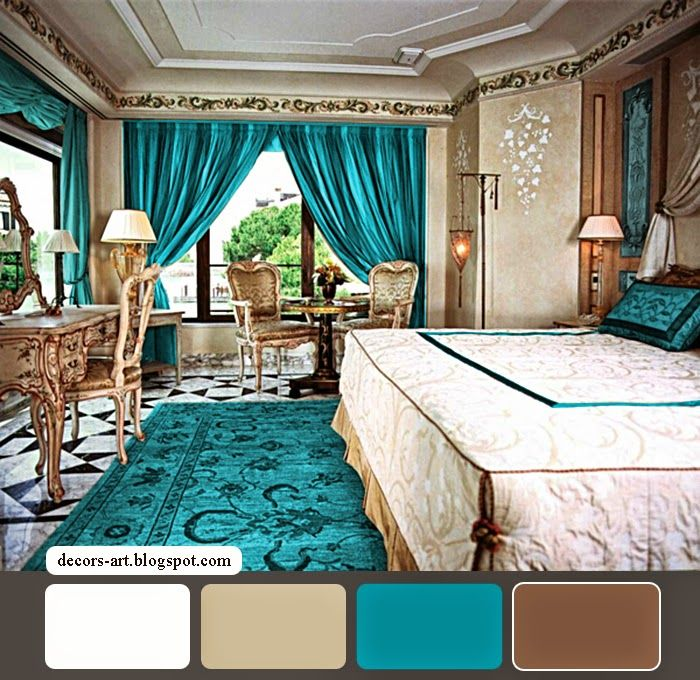 20 Unique And Cool Turquoise Room Decorations To Beautify