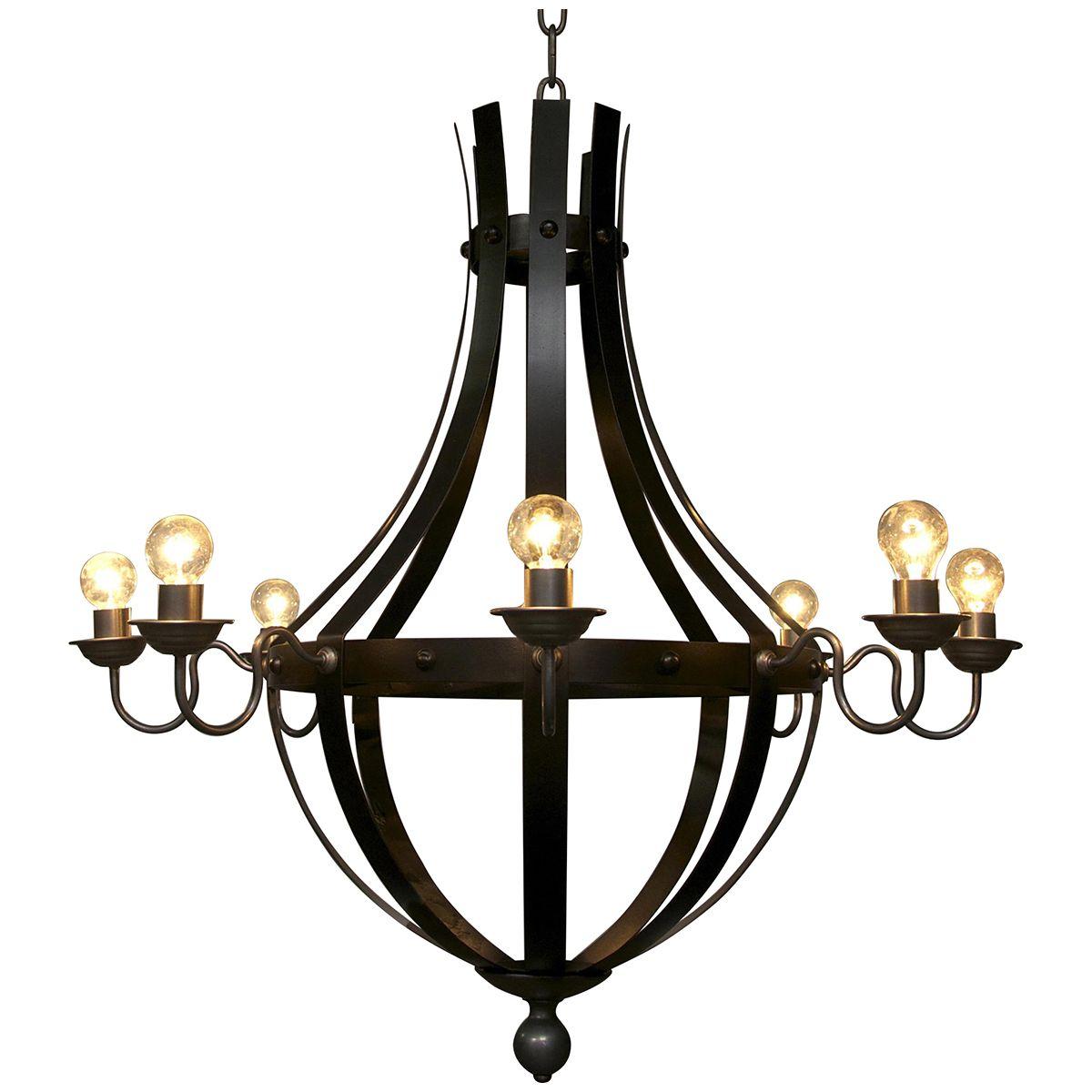 Noir Burg Chandelier LAMP309
