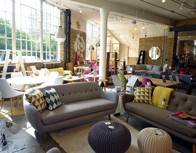 stonehouse furniture. barker and stonehouse show stopping battersea furniture shop