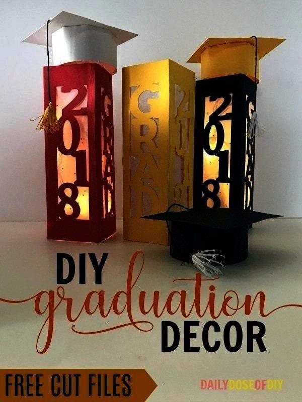 Free Printables - -Immense Party Crafts Free Printables - -  DIY Graduation Party Decor Centerpiece