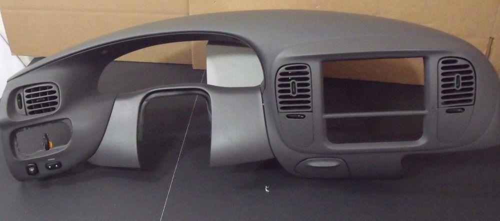 97-03 F 150 EXPEDITION NAVIGATOR 2x4 DASH VENTS TRIM RADIO BEZEL COLOR GRAY EG#6…