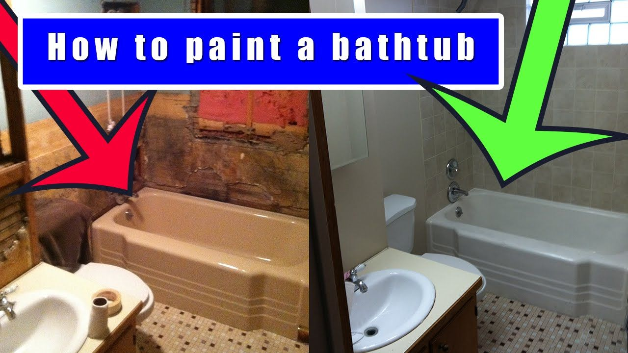 How To Paint A Bathtub Video This Is A 9 Minute Video Showing How