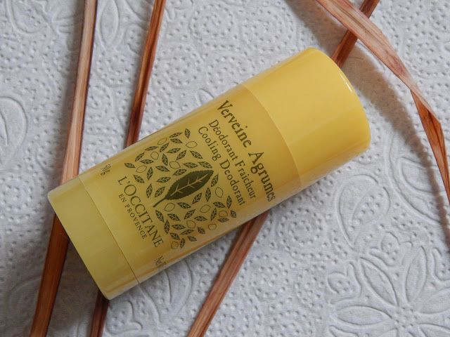 L'occitane Citrus Verbena cooling deodorant