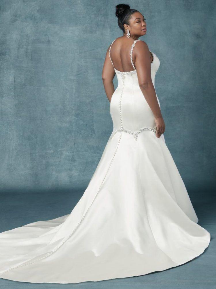 Flare Wedding Dress