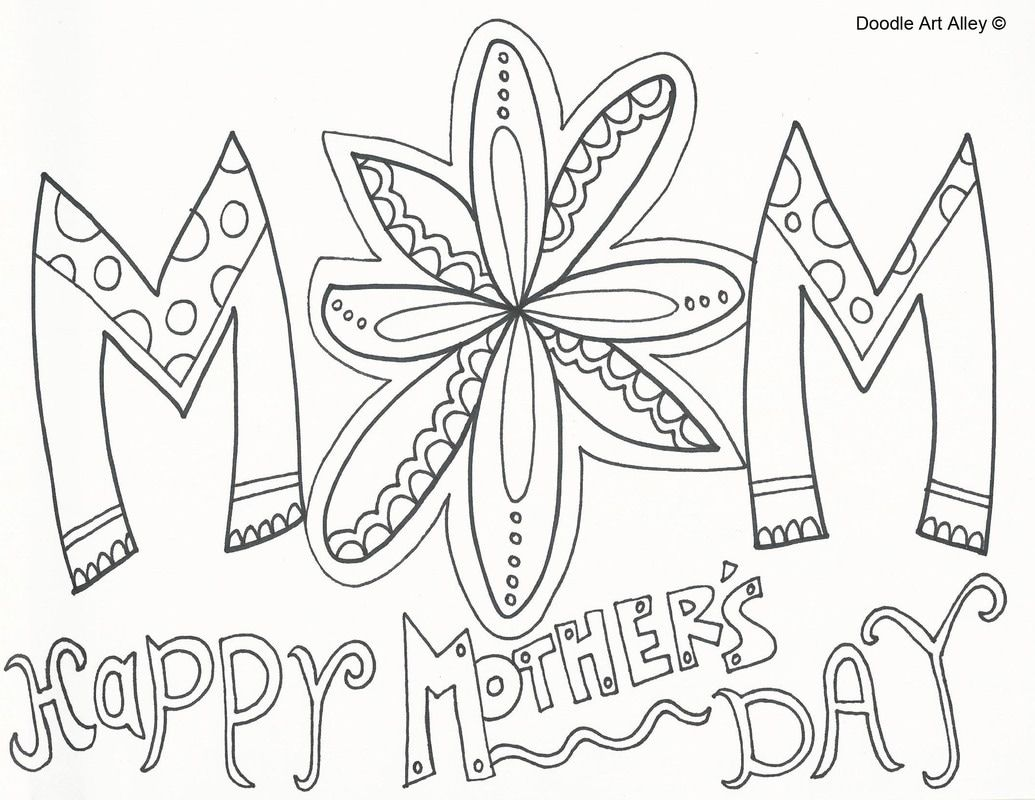 Mother's Day coloring pages Mothers day coloring pages