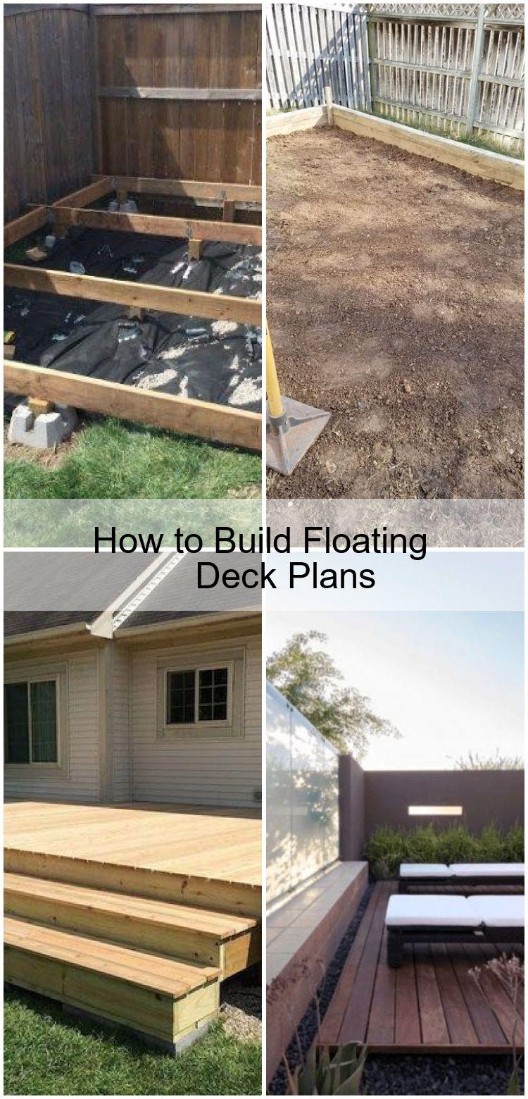 How To Build Floating Deck Plans Build Deck Floating Plans Floating Deck Plans Floating Deck Deck Plans