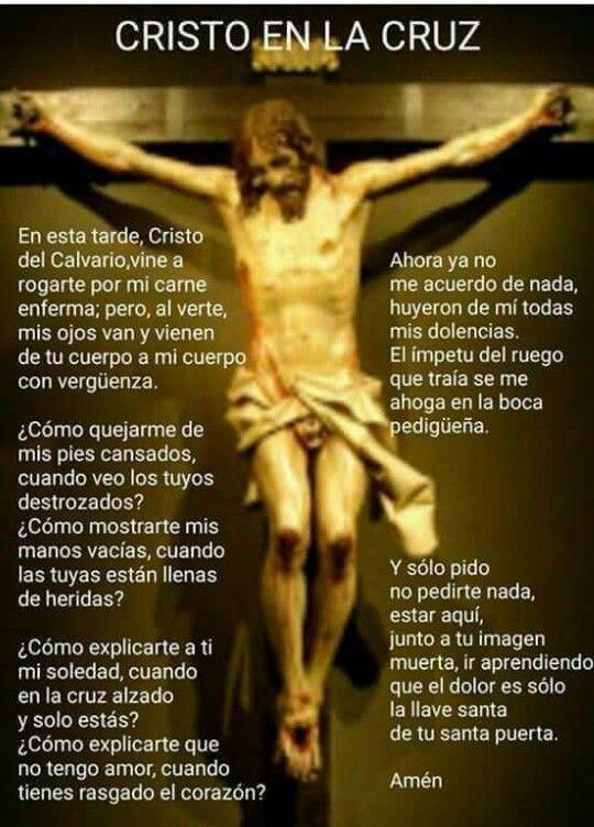 Cristo En La Cruz Oraciones Religiosas Oraciones