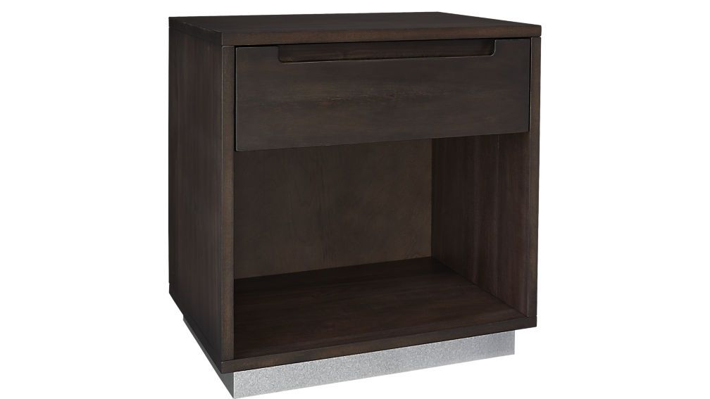 Best 20 75 W Cb2 Route Nightstand Bricolaje Y Manualidades 400 x 300