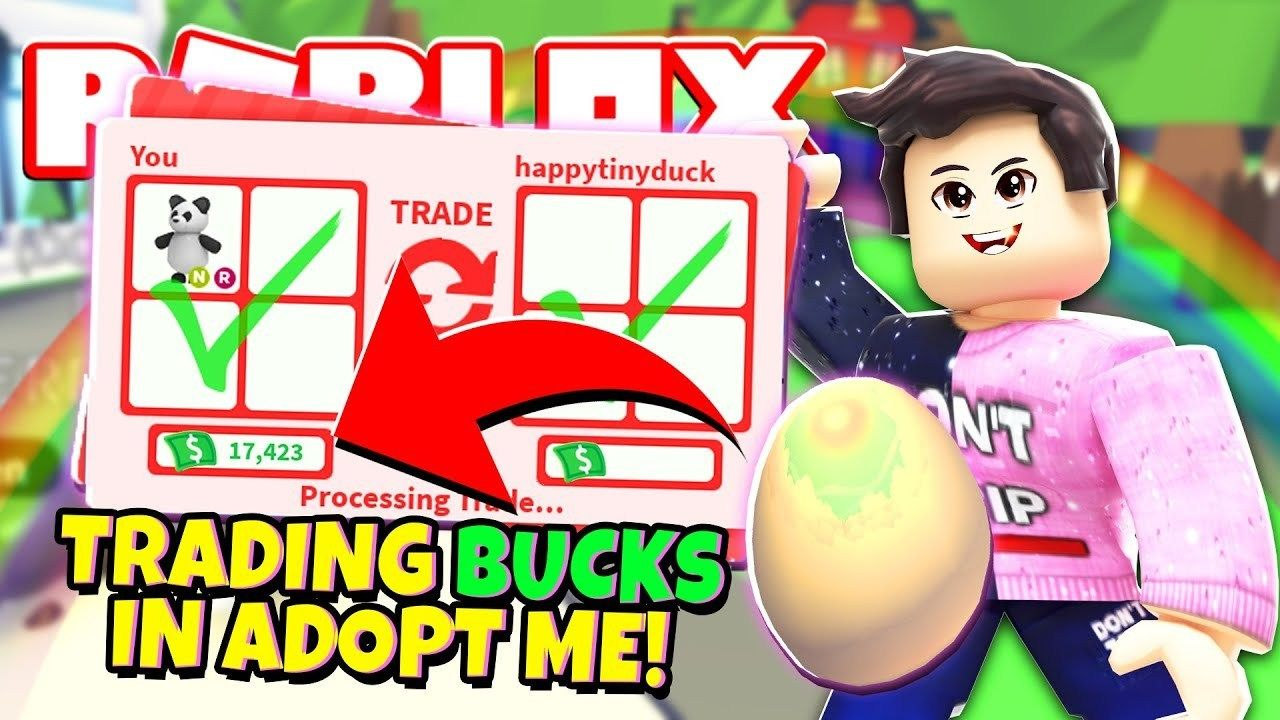 We Can Finally Trade Bucks In Adopt Me New Adopt Me Pet Accessory Update Roblox In 2020 Roblox Pet Accessories Adoption