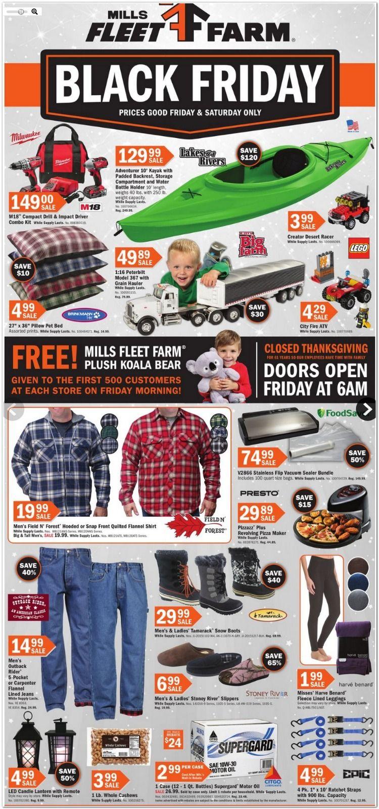Mills Fleet Farm Black Friday 2020 Deals Get Exciting Deals On Clothing Fleet Farm Black Friday Black Friday Prices