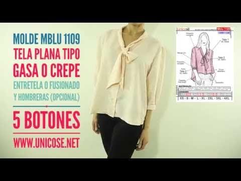 DIY Costura: Cómo hacer blusa (patrones gratis) - YouTube
