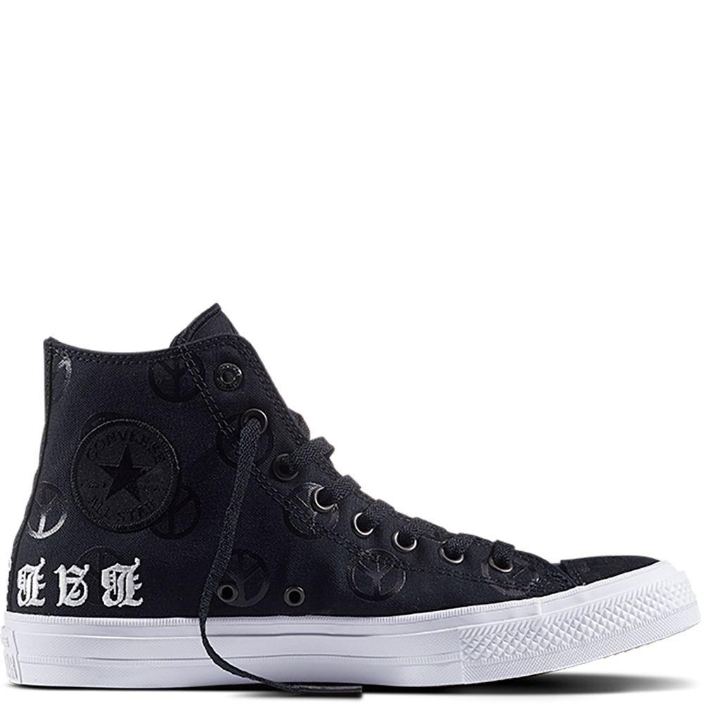 Chuck II x Babylon Nero/Nero/Bianco black/black/white