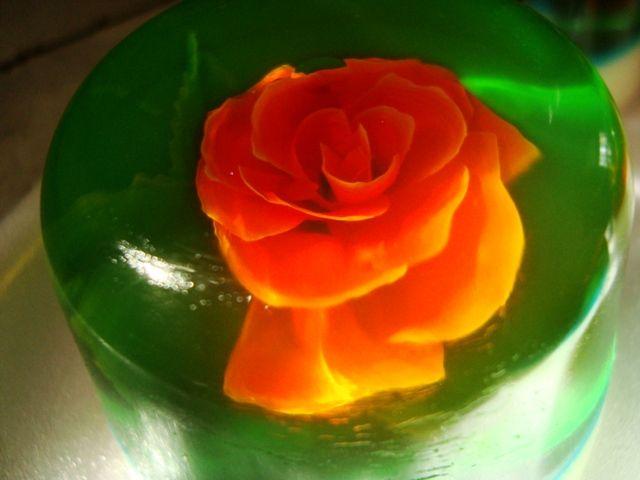 Gelamami Flor Rosa Flores Y Gelatinas