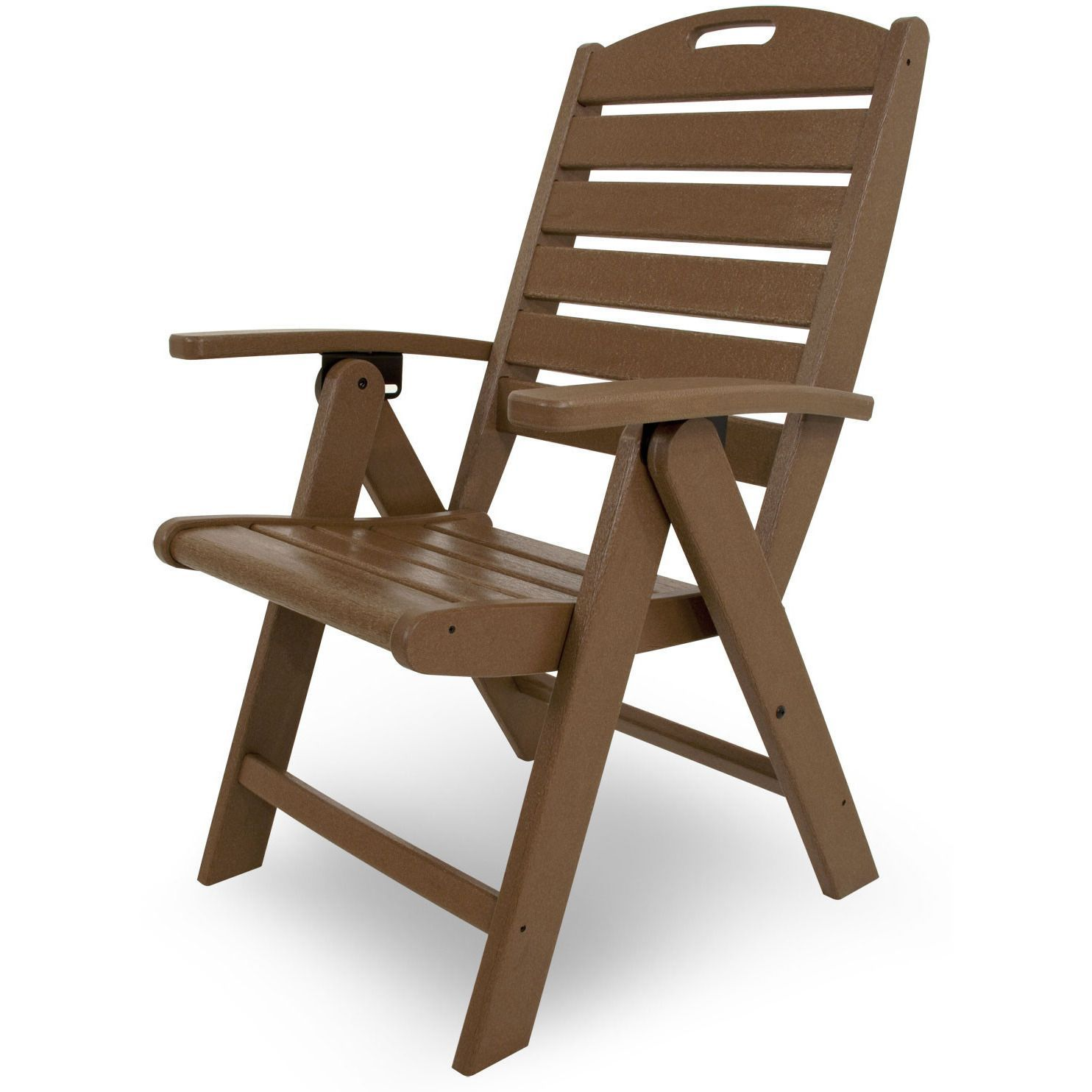 Trex Outdoor Furniture Yacht Club Highback Chair
