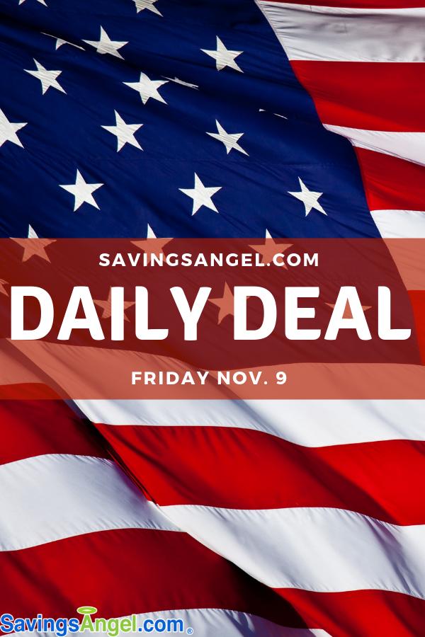 Daily Deal Veterans Day Discounts Savingsangel Com Veterans Day Discounts Referral Marketing Saving Money