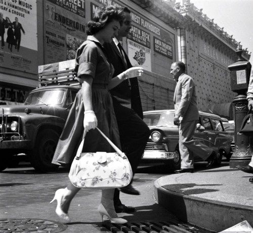 NYC 1960. Photo by James Burke.