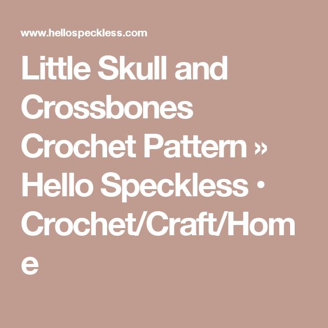 Encantador Cráneo Patrón Chal Crochet Colección de Imágenes - Ideas ...