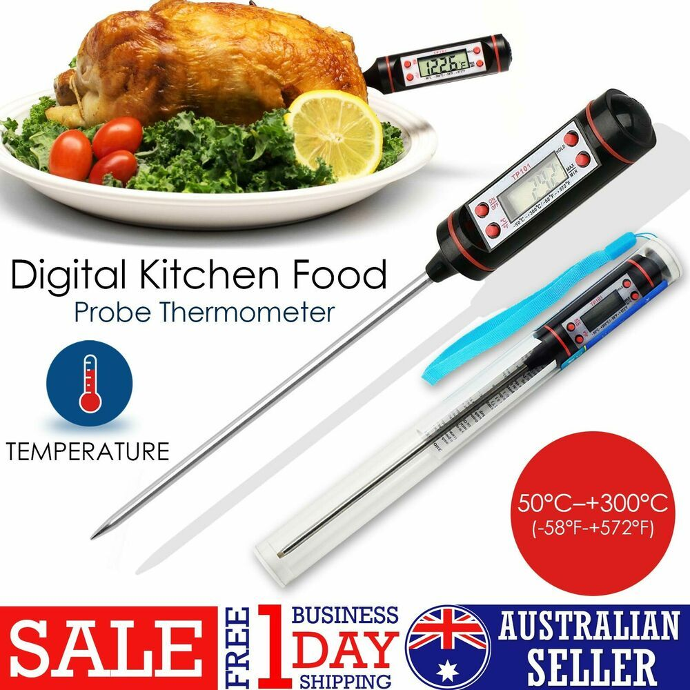 Digital Probe Meat Thermometer Instant Reaction Cooking