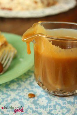 Butterscotch recipe- from scratch