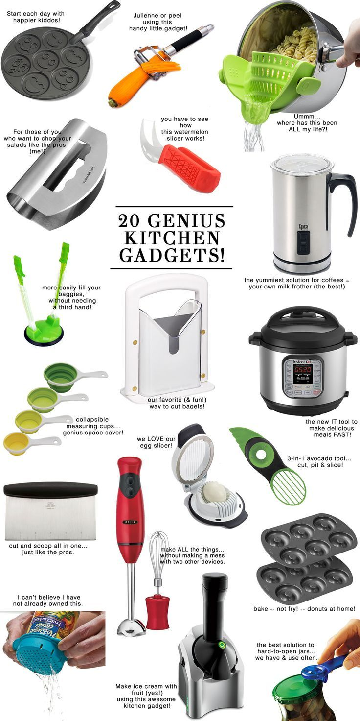The 20 Best & Most useful kitchen gadgets // the modern savvy, a life…