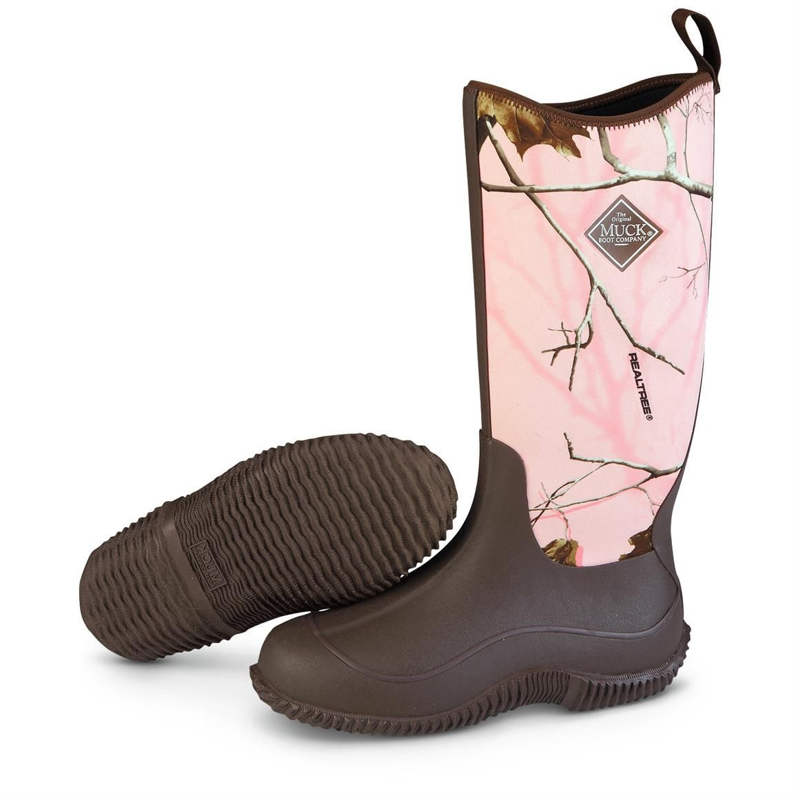 Women's Waterproof Muck Boot Company Hale Boots in Pink