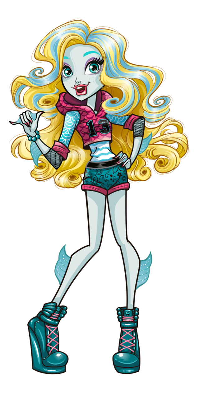 Monster High Lagoona Blue Lagoona Blue Is The Daughter Of A Sea Creature Always Laid Back And Re Monster High Characters Monster High Art Monster High Dolls