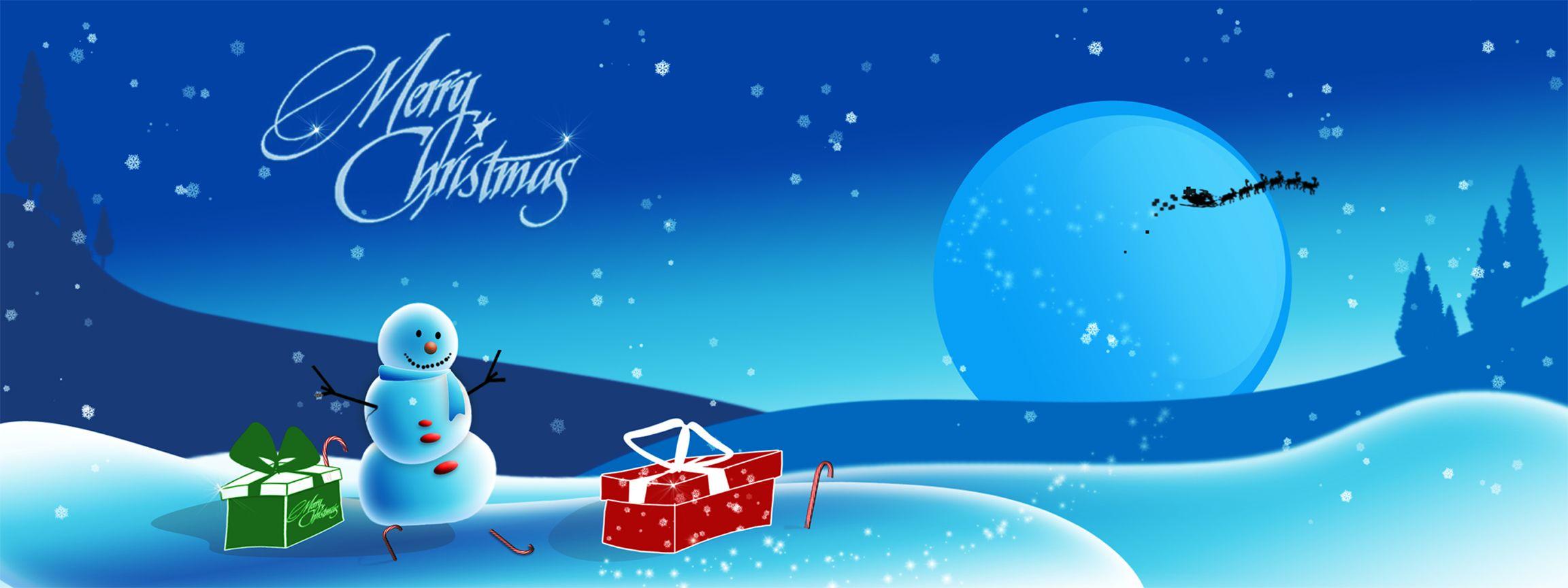 Widescreen Christmas Desktop Wallpaper