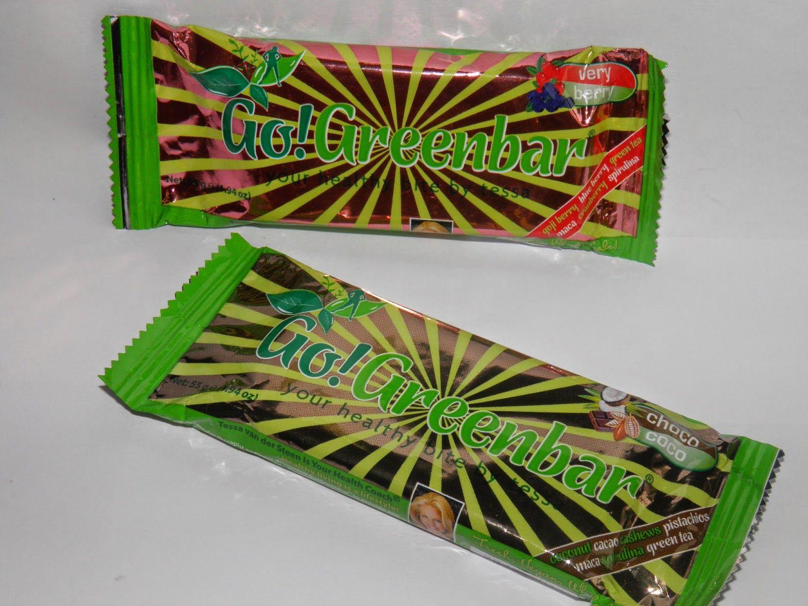 Heel gewoon dagelijks ...: Geproefd: Go! Green bar!