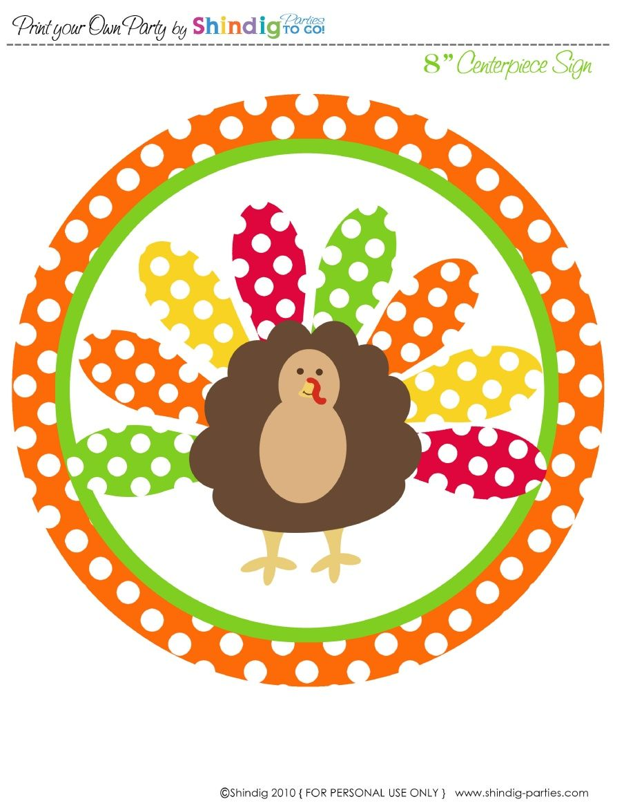 thanksgiving...cute free printables!