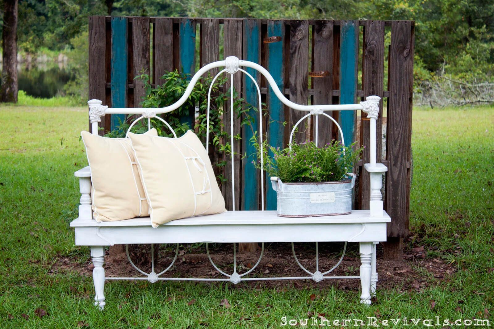 Wrought Iron Whimsical Outdoor Bench Eat In Kitchen In