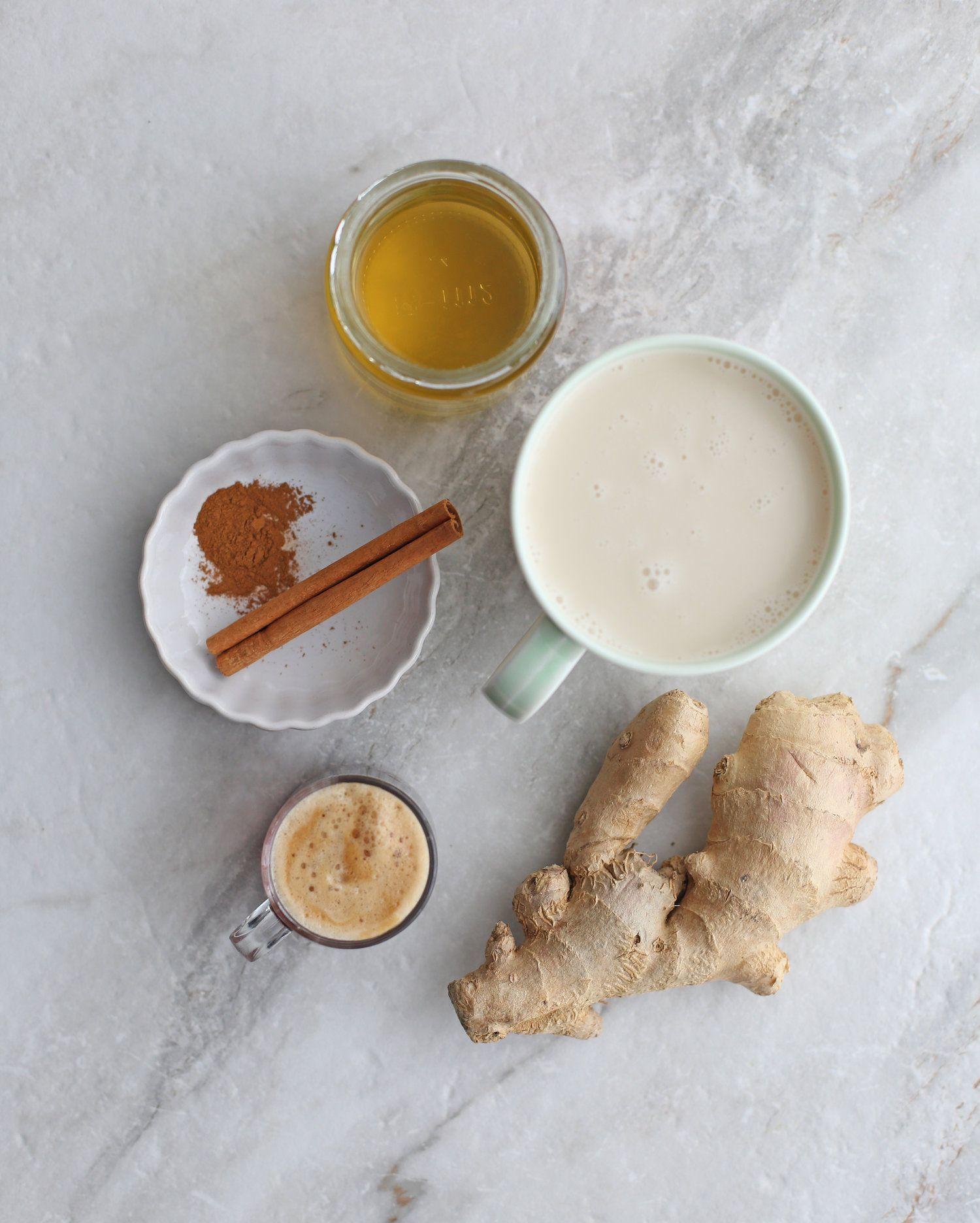 Honey Ginger Cinnamon Latte