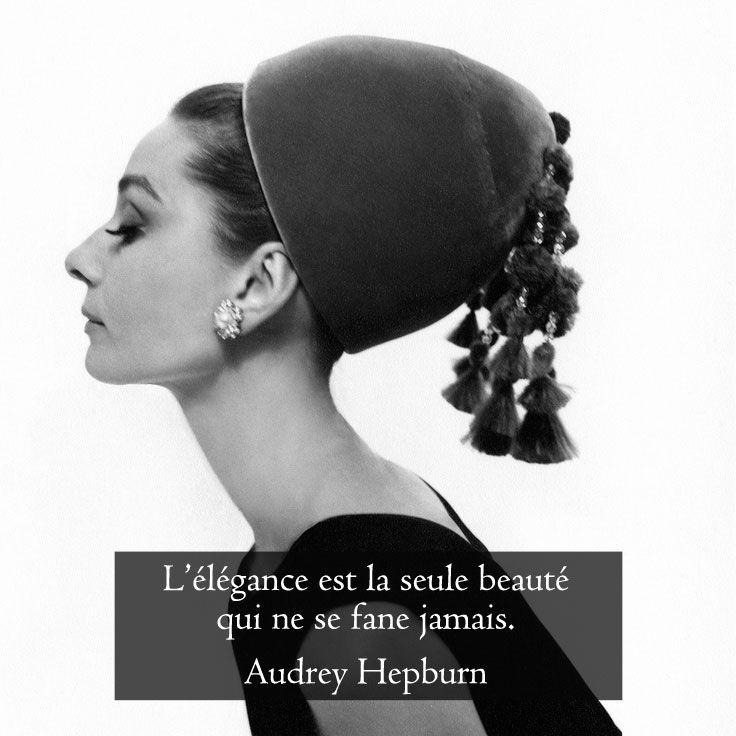 l'élégance est la seul beauté qui ne se fâne jamais image