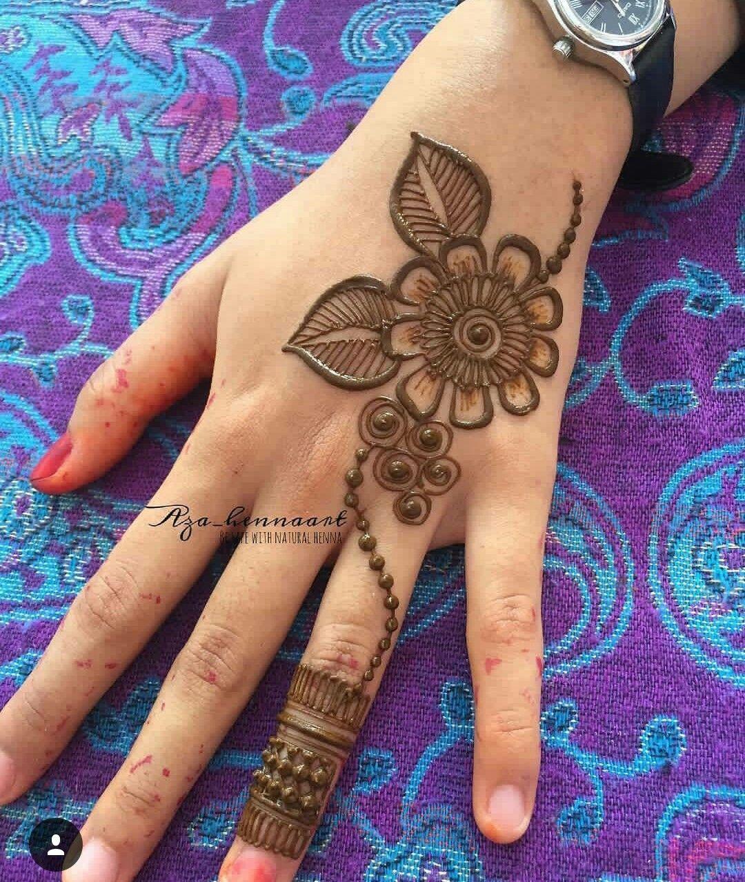 Mehndi finger henna designs easy bridal tattoo also design are very beautiful rh pinterest