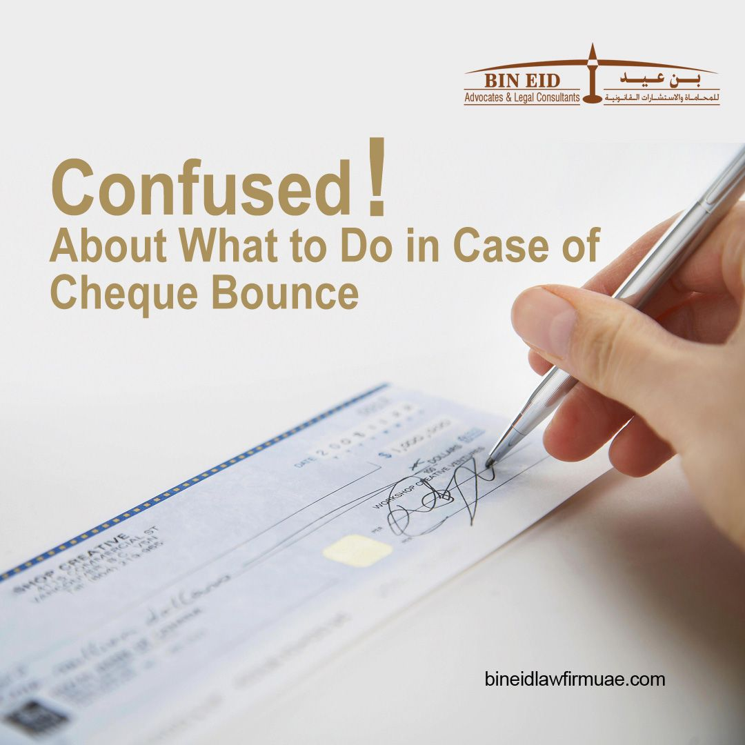 Are You Confused About What To Do In Case Of Cheque Bounce