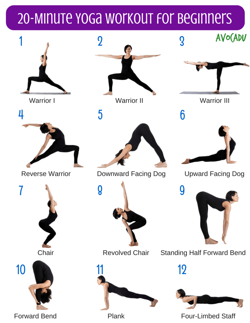 20 minute yoga workout for beginners yoga yoga para relajar entrenamiento de yoga y yoga. Black Bedroom Furniture Sets. Home Design Ideas