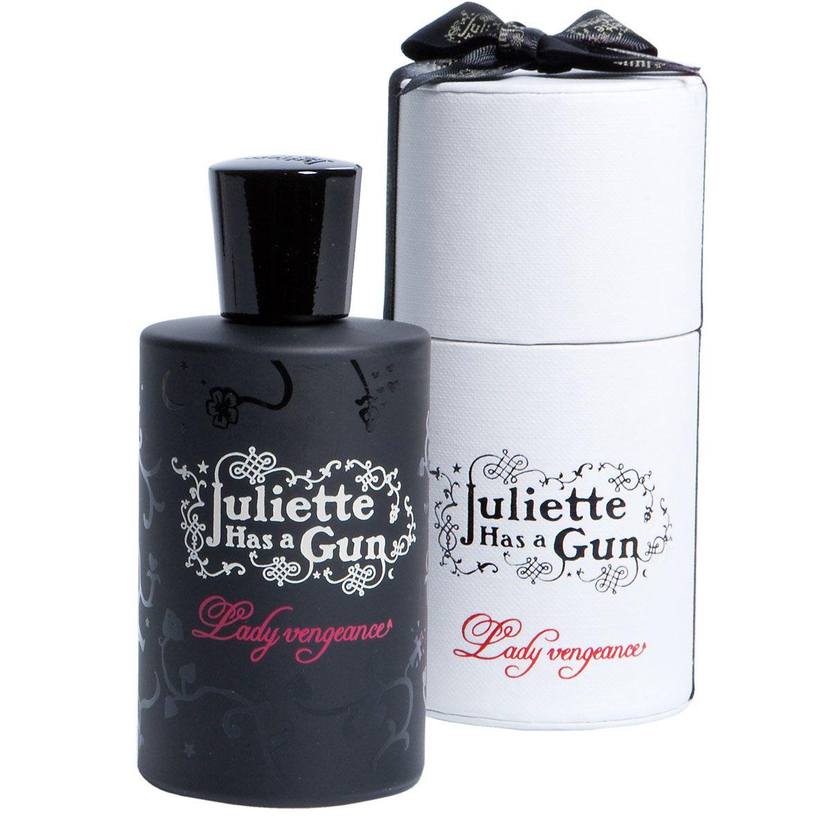 Juliette has a Gun - Lady Vengeance 100ml- Der Ausdruck unbeschreiblicher Weiblichkeit: selbstbewusst, göttlich und sinnlich. Der Duft einer Lady, die aus der Kunst der Verführung kein Geheimnis macht. Er kann riechen... Er kann träumen... Aber die Entscheidung liegt in ihrer Hand.