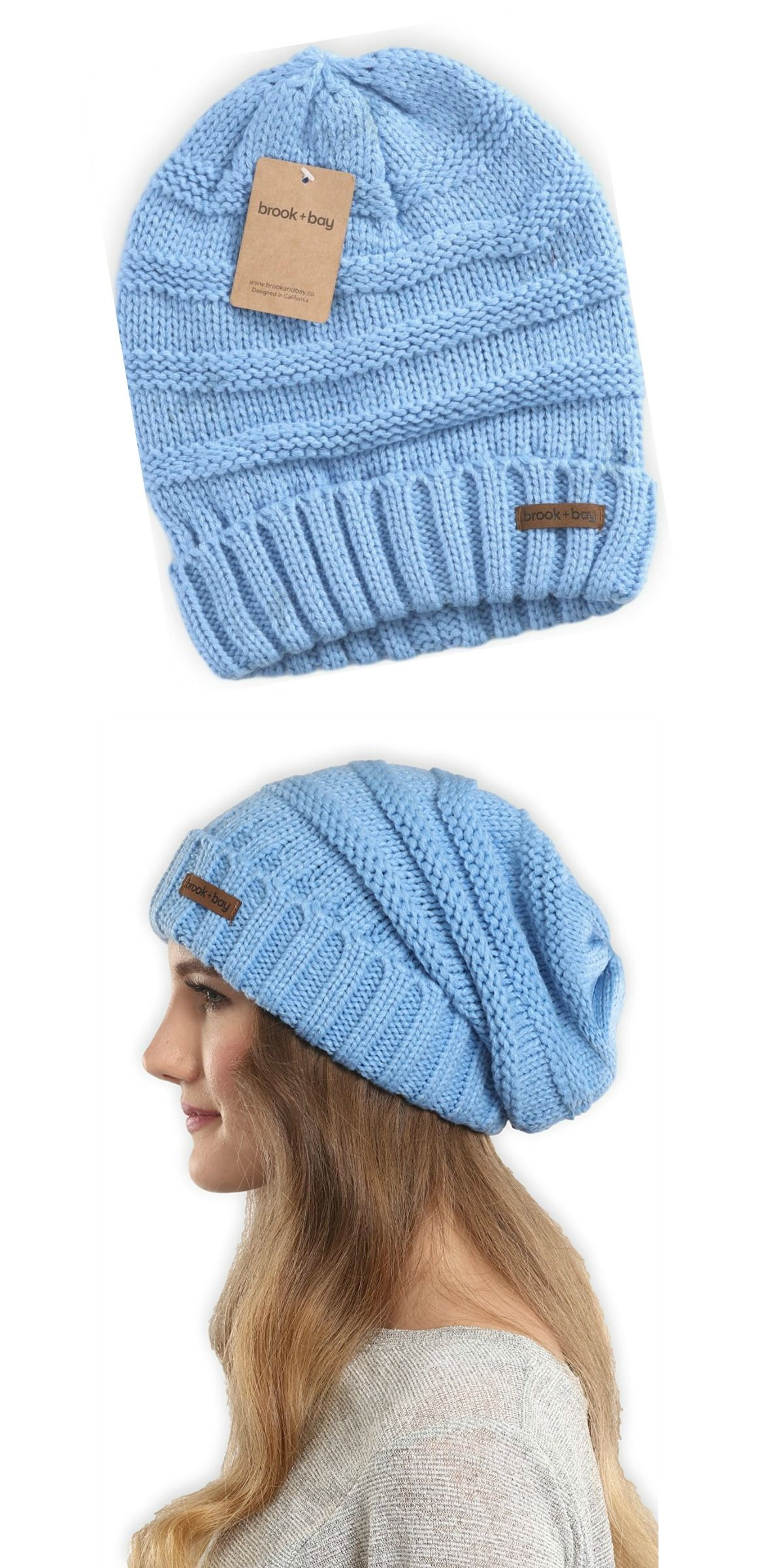 d5cd2878e7eb5 Cute baby blue winter hats for women