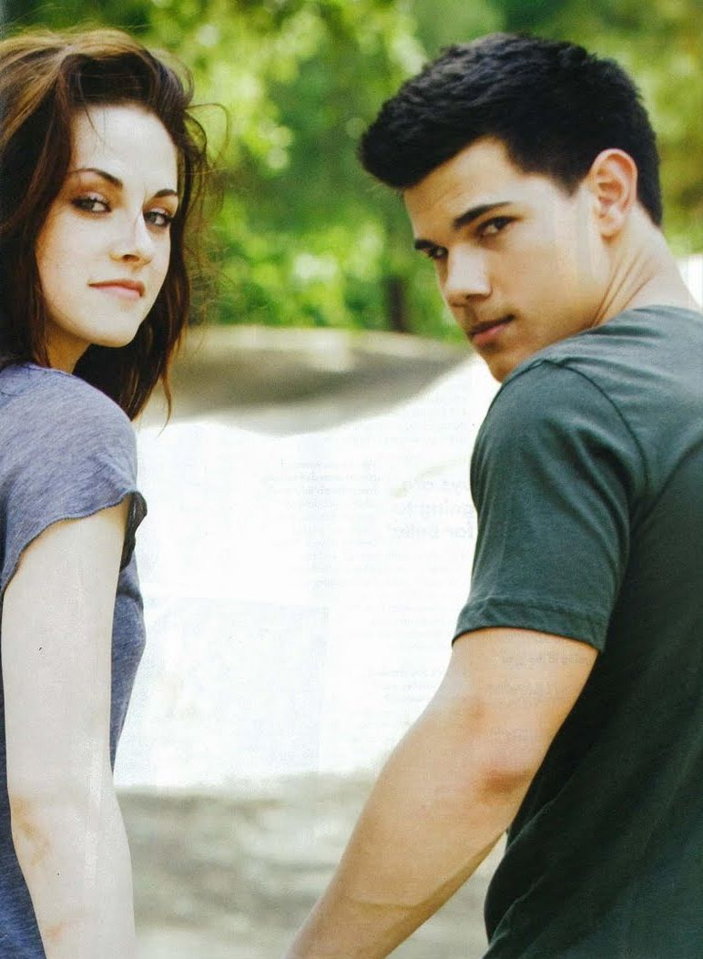 Kristen Stewart Taylor Lautner Bella Jacob Fav Movie Couples