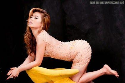 Myanmar sexiest model girl photo