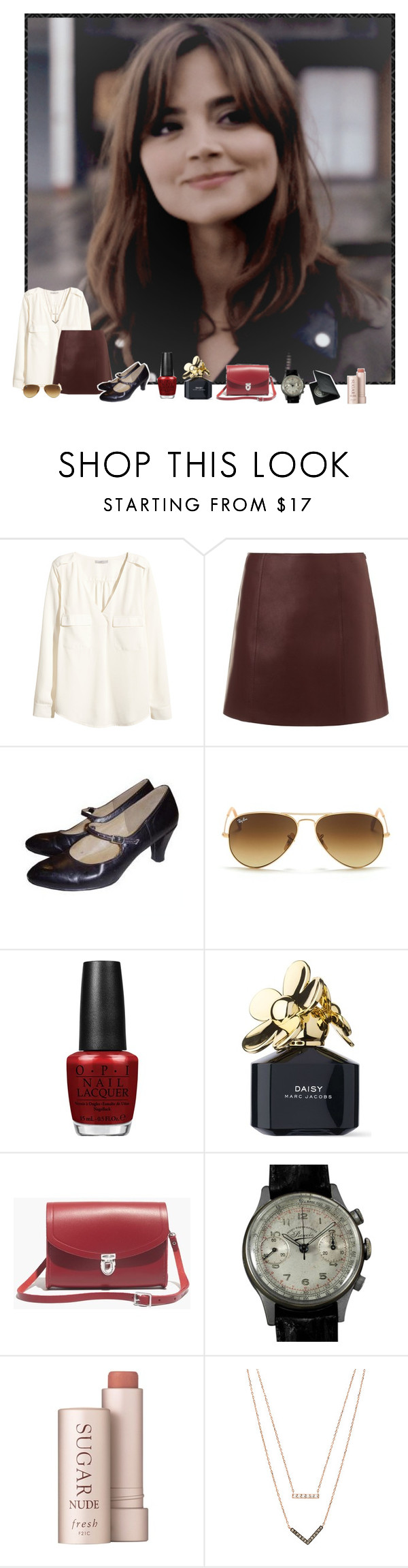 """And if I'm flying solo, at least I'm flying free."" by bunheads-hottie ❤ liked on Polyvore featuring Coleman, H&M, T By Alexander Wang, Ray-Ban, OPI, Marc Jacobs, Madewell, Fresh and Michael Kors"