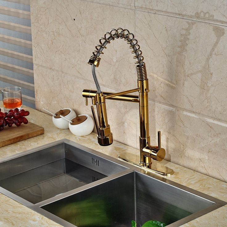 Gold Kitchen Faucet Google Search Kuchenarmaturen Kuchenarmaturen Gold Kuche Messing Kuchenarmatur