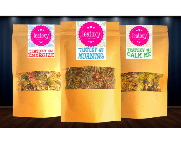I love tea! Teatoxy has the perfect trio teas to guide me through the entire day. I start with Teatoxy Morning to wake up. Withlemongrass, rose hips, peppermint, apples, rooibos, blackberry leaves, hibiscusand marigolds, how…