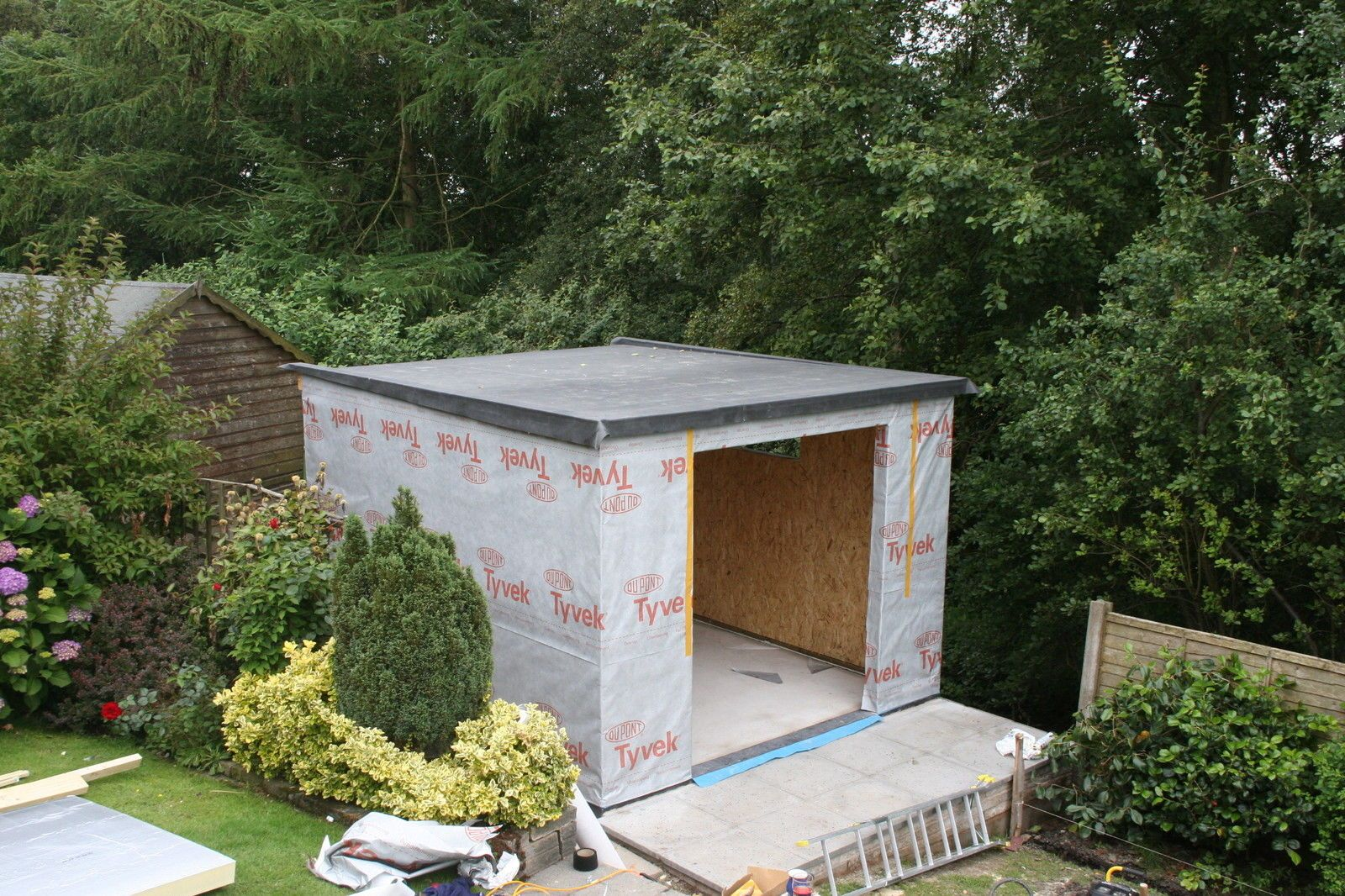 Insulated Garden Studio Office Room Self Build SIP Kit + Foundations + EPDM  Roof | EBay