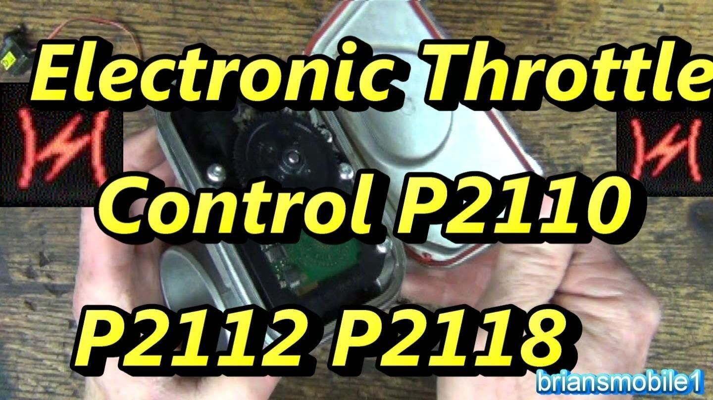 Explore About DODGE Caliber or Dodge Caliber Etc Light – Electronic  Throttle Control P2110 P2112 P2118