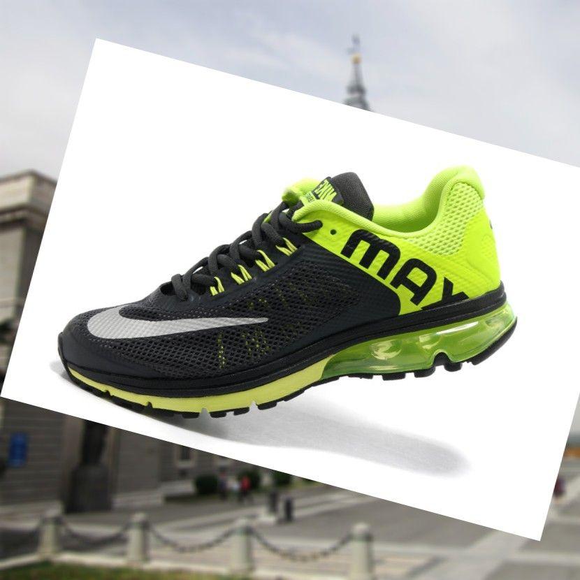 meet 2339b 551a8 Venta 2015 Espa a Nike Air Max Excellerate 2 Para Hombre Zapatillas De  Entrenamiento Para Hombres Negro Fluorescencia Verde 8YGq0