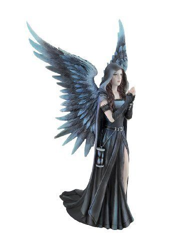 Veronese Anne Stokes `Soul Mates` Gothic Female and Dragon Statue